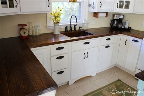 diy wood kitchen countertops diy butcher block countertops for stunning kitchen look
