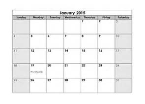 Free Downloadable 2015 Calendar Template by 2015 Calendar Templates 2015 Monthly Yearly