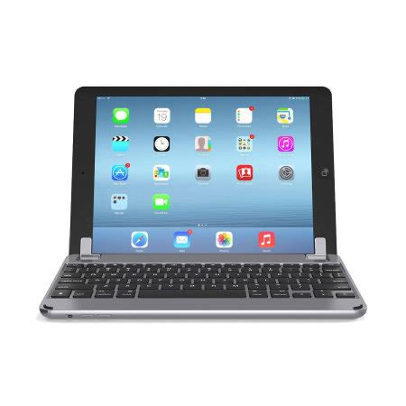 brydgeair aluminium ipad   keyboard space grey