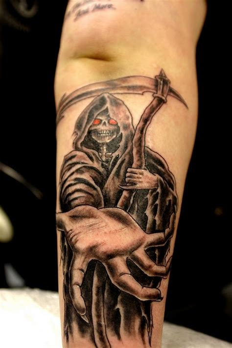 tattoo pictures grim reaper grim reaper tattoos designs ideas and meaning tattoos