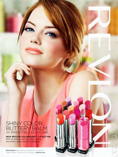emma stone revlon emma stone for revlon canadian beauty