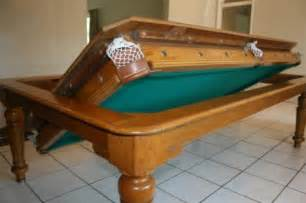 Dining Table Pool Flip For Entertaining 4 Clever Pool Tables That Convert Transform Http Www Decority