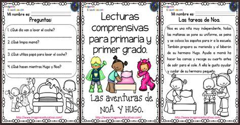 lecturas comprensivas para primaria noa y hugo 5 lecturas comprensivas para primaria noa y hugo portada