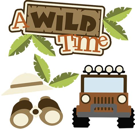 safari jeep png a wild time svg scrapbook collection safari svg files for