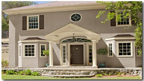 exterior paint color schemes benjamin attractive