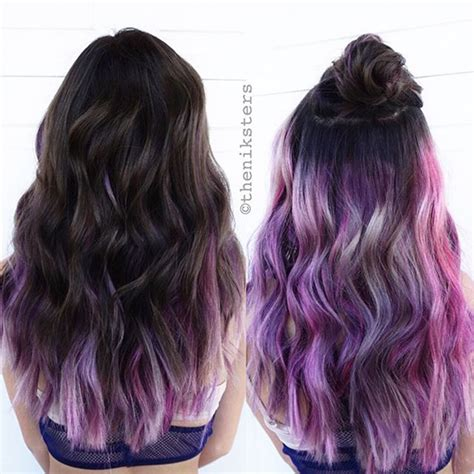 hairstyles different color underneath ombre hair styles archives vpfashion vpfashion