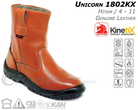Sepatu Merk Unicorn safety shoes unicorn sepatusafetyshoes