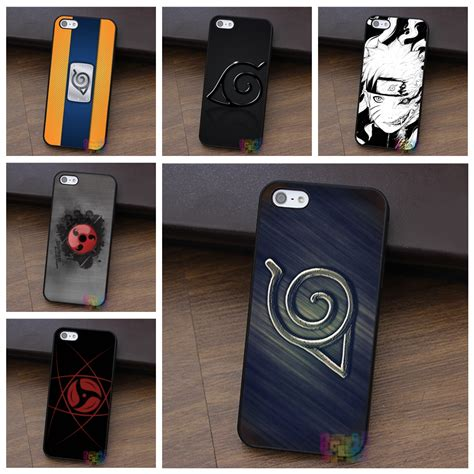 theme line naruto iphone ninja logo from manga naruto fashion cell phone case for