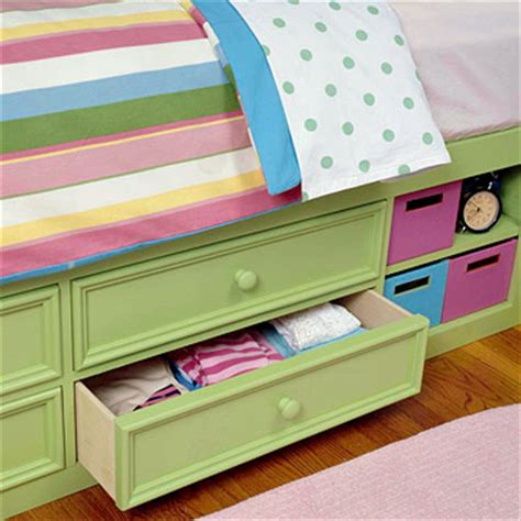 simple under bed storage budget ideas for childrens kid s room creative storage ideas the decorative touch ltd