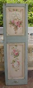 shabby chic catalog a beautiful painted shutter by christie repasy