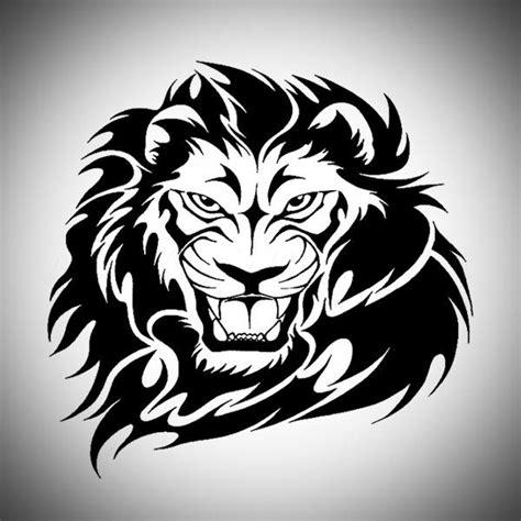 tattoo tribal lion head lion head tribal tattoo designs tattoos pinterest