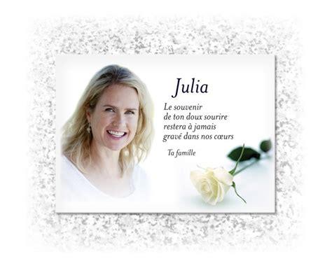 themes in rose blanche modele plaque fun 233 raire personnalis 233 e avec th 232 me fleur et rose