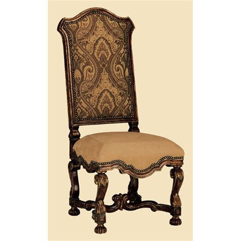 marge carson sg45 segovia side chair discount furniture at