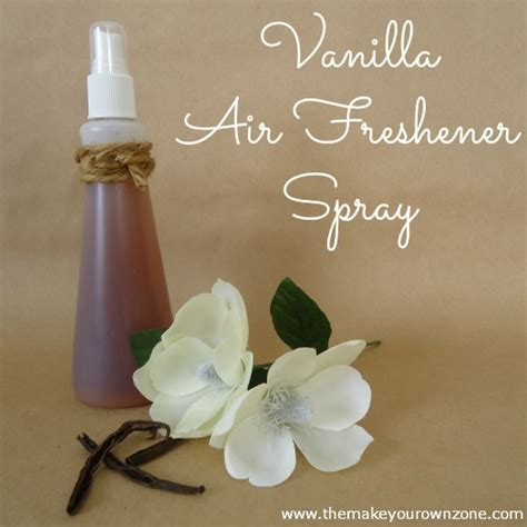 how to make a vanilla air freshener spray the make your