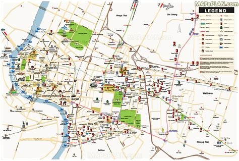 bangkok map maps update 21051488 tourist attractions map in portland oregon fileportland printable