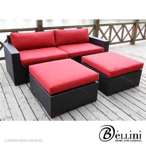 deep set sofa bali deep seating sofa and ottoman set w77304 bellini