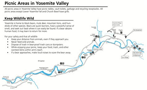 map of yosemite area yosemite maps npmaps just free maps period