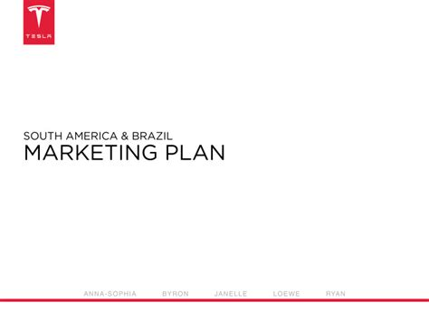 tesla marketing plan slideshare ppt tesla marketing plan sincerely loewe