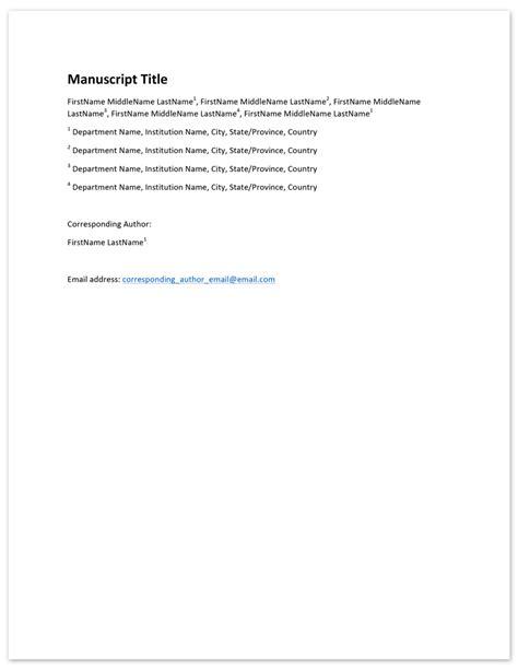 peerj about author instructions