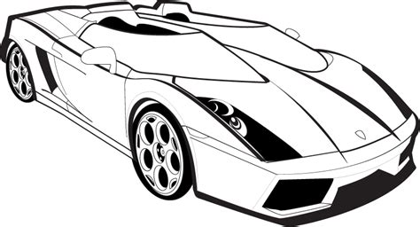 Lamborghini Gallardo Outline by DaseinBlackzAngelTan on