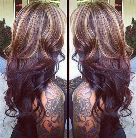 reverse ombre highlights reverse ombre hairstyles google search hairstyles