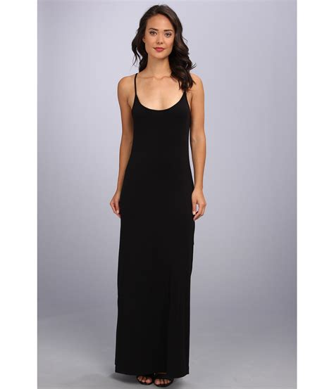 Maxi Black A splendid cami maxi dress solid black shipped free at zappos