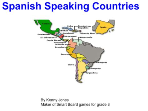 what are the speaking countries south american countries and capitals song lyrics