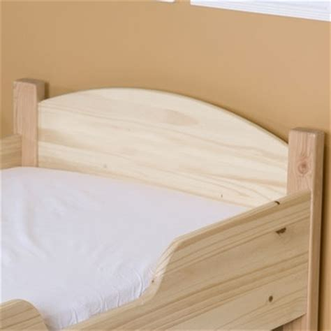 Unpainted Headboards by Naturepedic Organic Quilted Deluxe Mattress