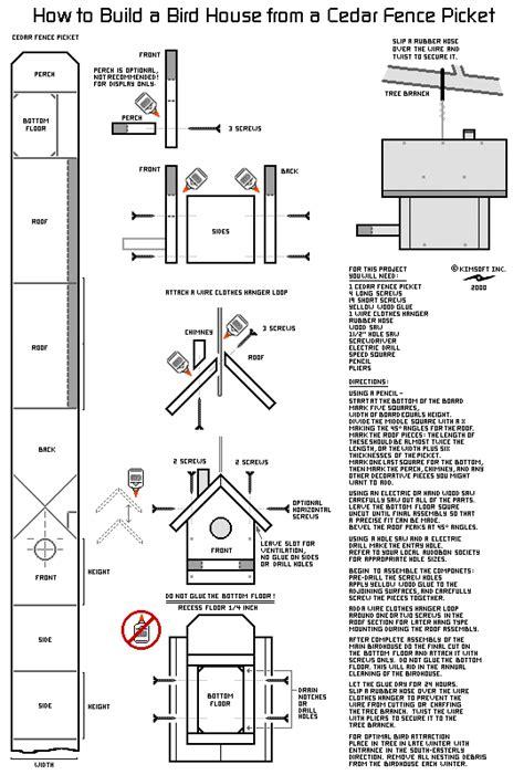 red cardinal bird house plans  woodworking