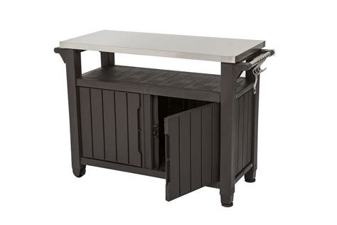 bbq table bbq tables with stainless steel top single