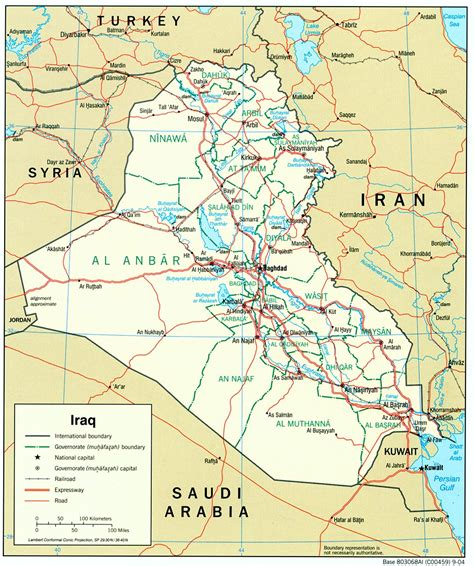 the map of iraq muslims islam and iraq