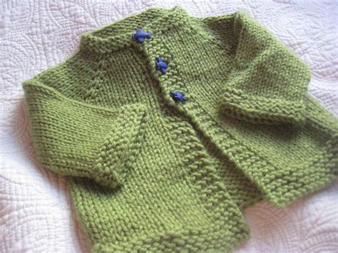 simple baby knits the zoom cardigan is a sweet and sweater for
