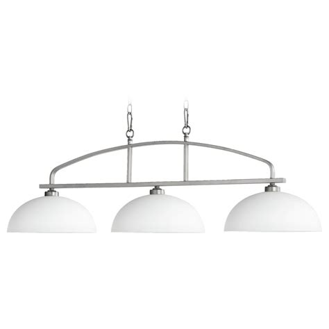 Quorum Island Lighting Quorum Lighting Reyes Classic Nickel Island Light 6660 3 64 Destination Lighting