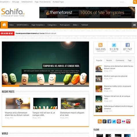 sahifa theme update sahifa wordpress theme review download demo support