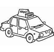 Taxi 21 Transportation – Printable Coloring Pages