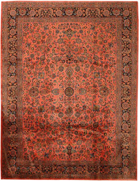 Antique Kashan Persian Rug 43560 For Sale Antiques Com Antique Rugs Prices