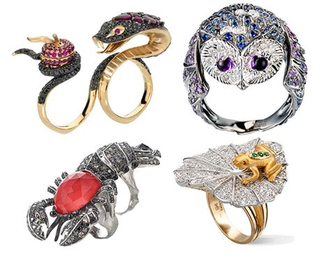 design inspiration jewelry 20 gorgeous animal inspired gem encrusted jewelry designs