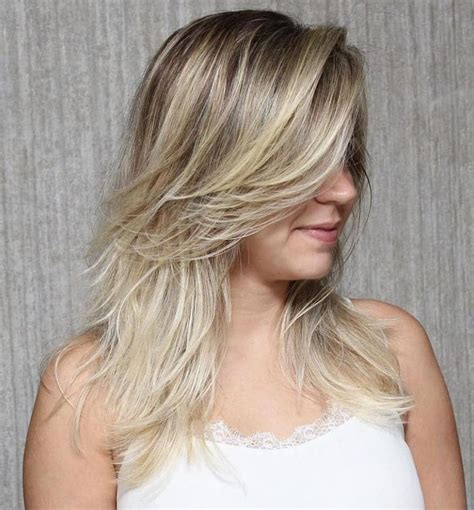 light layered top of hair for thin straight hair hairstyle gallery 20 best medium hairstyles to light you up