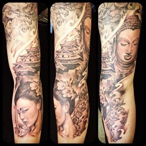 Geisha Tattoo Vrouw | mijn tattoos de weg naar een old skool sleeve