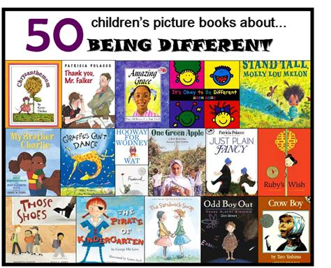 on being books our tongginator 50 books about being different
