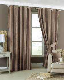 coffee brown eyelet lined cheap striped curtain