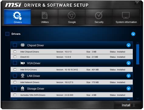 msi driver msi z97 mpower max ac software msi z97 mpower max ac