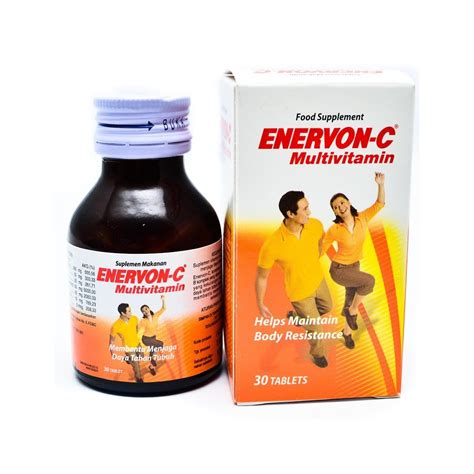 Vitamin Enervon C Tablet Jual Enervon C Vitamin 30 Tablet