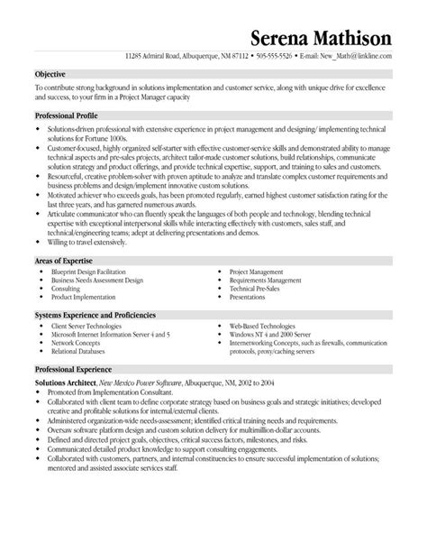 It Manager Objective Resume by Best 25 Project Manager Resume Ideas On