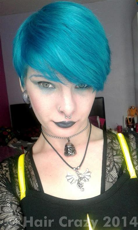 dark green hair turquoise without bleach directions turquoise hair dye haircrazy com