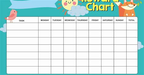 free printable weekly reward charts free printable weekly reward chart for kids parenting times
