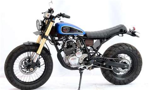 Knalpot Custom Scrambler Untuk Motor Bebek 00 scorpio motorgoodness