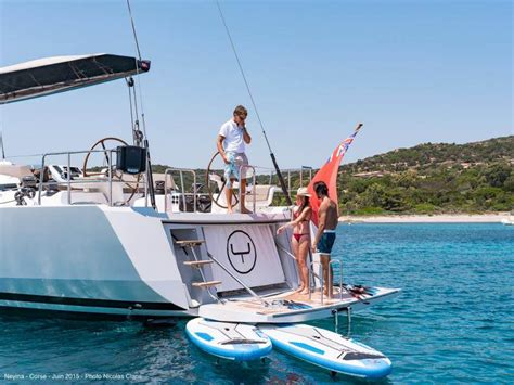 boat swim platform shower neyina yacht charter monohull ritzy charters