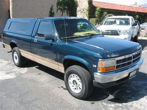 how make cars 1992 dodge dakota auto manual find used 1992 dodge dakota extra cab le 4x4 4wd with shell no reserve in thousand oaks