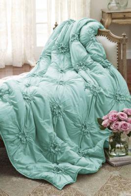 lombardi smocked coverlet 1000 ideas about aqua comforter on pinterest comforters